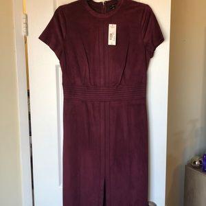 NWT Maroon Business dress size 6